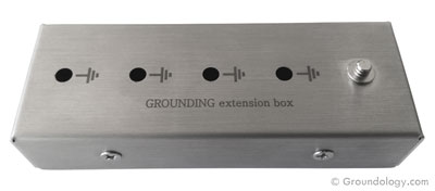 Grounding extension box