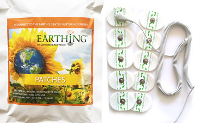 Kit de patches Earthing - double